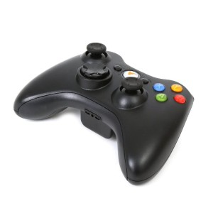 OMEGA METEOR X XBOX360 WIRELESS BLACK GAMEPAD