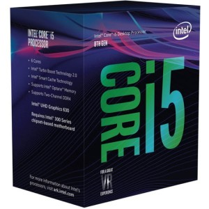 INTEL CORE I5-8500 3,0GHz LGA1151 PROCESOR BOX BX80684I58500