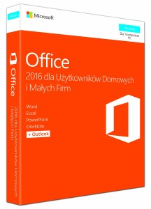 MICROSOFT OFFICE HOME & BUSINESS 2016 PL T5D-02786