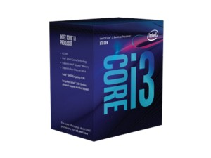INTEL CORE I3-8100 3,6GHz LGA1151 PROCESOR BOX BX80684I38100
