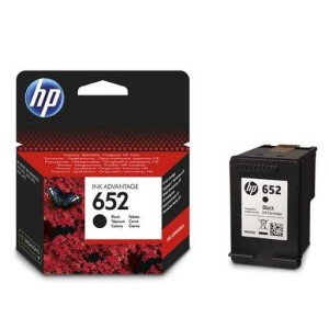 HP 652 BLACK F6V25AE TUSZ