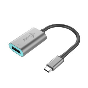 I-TEC ADAPTER USB-C/DISPLAY PORT 4K 60Hz C31METALDP60HZ