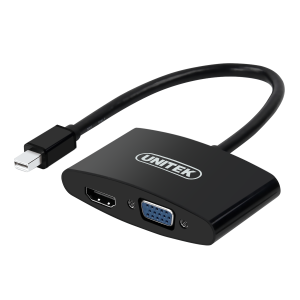UNITEK Y-6328 ADAPTER MINI DISPLAYPORT/VGA-HDMI