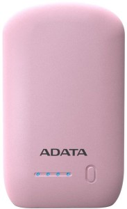 ADATA P10050 10500mAh PINK 2.4A POWER BANK