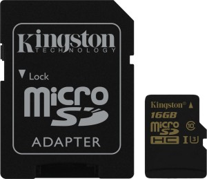 KINGSTON SDCG/16GB microSDHC UHS-I CL10 GOLD