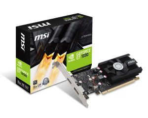 MSI GEFORCE® GT 1030 2048/64 DDR5 GT 1030 2G LP OC