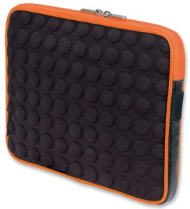 MANHATTAN TABLET BUBBLECASE BLACK/ORANGE 439633