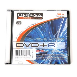 FREESTYLE DVD+R 8,5GB 8X DOUBLE LAYER SLIM*1 40873