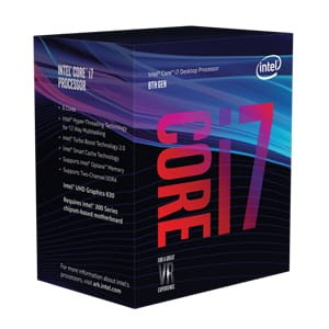 INTEL CORE I7-8700K 3,7GHz LGA1151 PROCESOR BOX BX80684I78700K