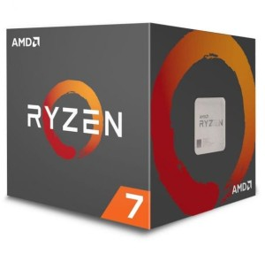 AMD RYZEN 7 2700X 3,7GHz AM4 PROCESOR BOX