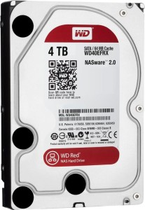 "WD 4TB 64MB DYSK SATA III 3.5"" WD40EFRX RED"