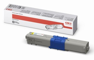 OKI C310/330/510/530 TONER YELLOW 44469704