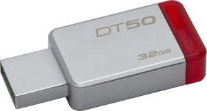 KINGSTON DataTraveler 50 32GB USB 3.0 METAL RED DT50/32GB PENDRIVE