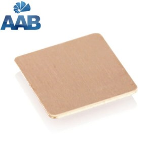 AAB COOLING COPPER PAD 15*15*0,1 mm PKT062