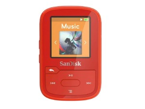 SANDISK CLIP SPORT PLUS MP3 16GB RED SDMX28-016G-G