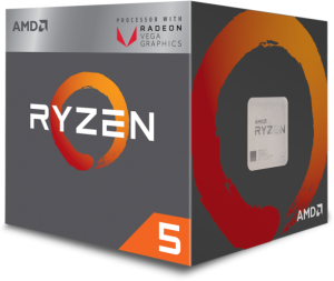 AMD RYZEN 5 2400G 3,6GHz VEGA PROCESOR BOX YD2400C5FBBOX