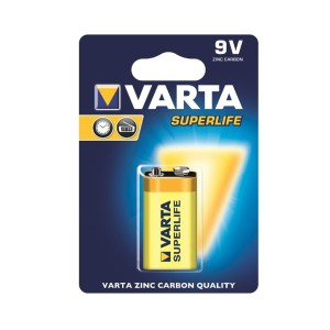 VARTA SUPERLIFE 9V BATERIA 1SZT