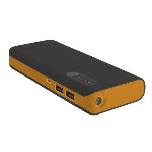 PLATINET POWER BANK 13000MAH BLACK/ORANGE 42898