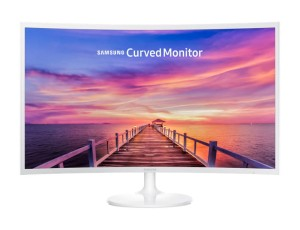 "SAMSUNG C32F391FWUX VA FHD 31.5"" CURVED WHITE LED MONITOR"