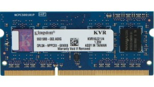 KINGSTON DDR3 SODIMM 4GB 1600MHz KVR16LS11/4