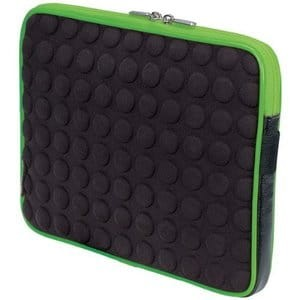 MANHATTAN TABLET BUBBLECASE BLACK/GREEN 439596