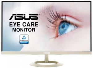 "ASUS VZ27AQ ULTRA-SLIM IPS WQHD 24"" Flicker Free EyeCare LED MONITOR"
