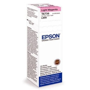 EPSON T6736 LIGHT MAGENTA 70ML BUTELKA DO L800
