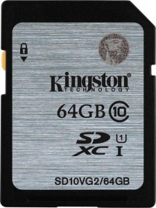 KINGSTON 64GB SDHC UHS-I SD10VG2/64GB