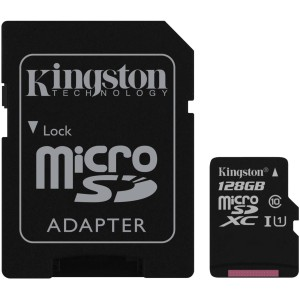 KINGSTON SDC10G2/128GB MICRO SDHC CLASS10