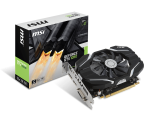 MSI GEFORCE® GTX 1050 2048/128 DDR5 GTX 1050 2G OC