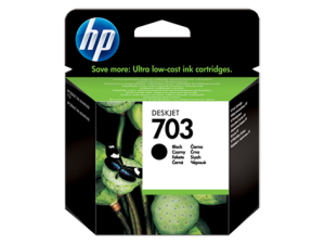 HP 703 GŁOWICA BLACK CD887AE