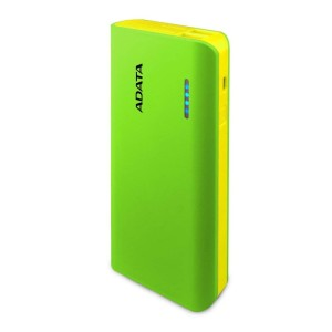 ADATA PT100 10000mAh GREEN/YELLOW 2.1A POWER BANK