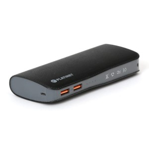 PLATINET 15000mAh 2.1A QC3.0 BLACK POWERBANK 44033