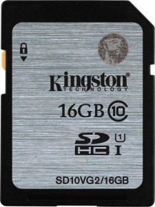 KINGSTON 16GB SDHC UHS-I SD10VG2/16GB