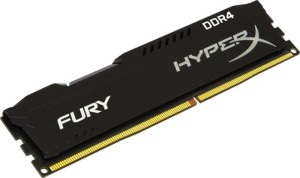 KINGSTON HYPERX FURY DDR4 DIMM 8GB 2400MHz HX424C15FB2/8