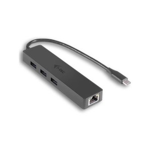 I-TEC USB-C SLIM 3P HUB GIGABIT ETHERNET USB3.0