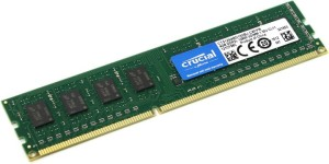 CRUCIAL DDR3 DIMM 4GB 1600MHz CT51264BD160BJ