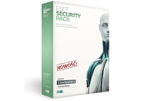 ESET SECURITY PACK 3PC + 3SMARTFONY 1ROK KONTYNUACJA