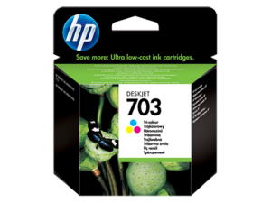HP 703 GŁOWICA COLOR CD888AE