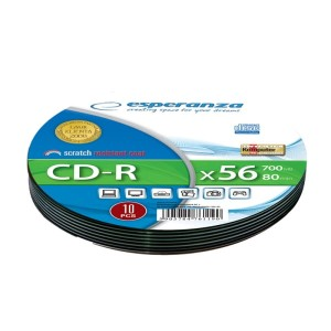 ESPERANZA CD-R 700MB *52 SOFT PACK 10