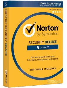 SYMANTEC NORTON SECURITY DELUXE 3.0 PL 5PC 1ROK BOX