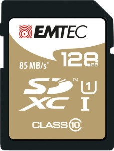 EMTEC 128GB SDXC CL10 UHS-I GOLD