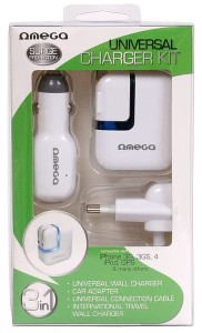 OMEGA UNIVERSAL TRAVEL CHARGER KIT