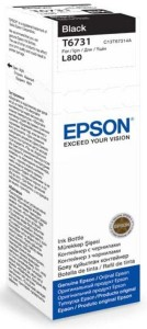 EPSON T6731 BLACK 70ML BUTELKA DO L800