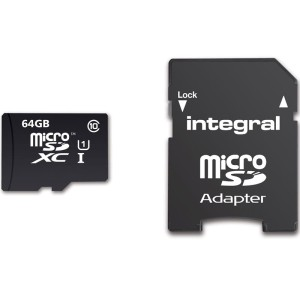 INTEGRAL ULTIMA PRO 64GB microSDXC CL10 UHS-1