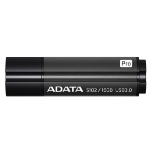 ADATA S102 PRO 16GB GRAY USB 3.1 AS102P-16G-RGY PENDRIVE