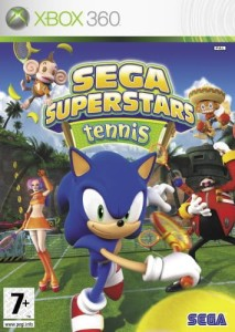 SEGA SUPERSTARS TENNIS XBOX 360 GRA