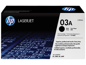 HP 03A BLACK TONER
