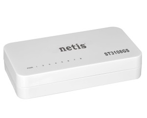 NETIS ST3108GS 8-PORT GIGABIT SWITCH